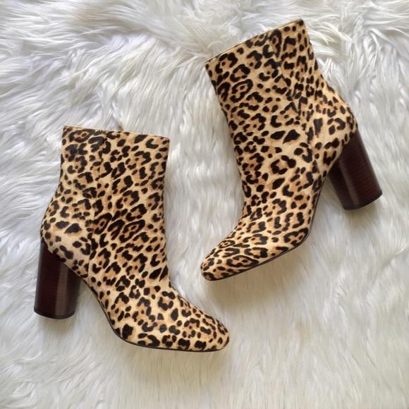 4832c86607ee Sam Edelman Corra Leopard Booties NEW. M_5ac4fc5a46aa7c7e8ca5c060
